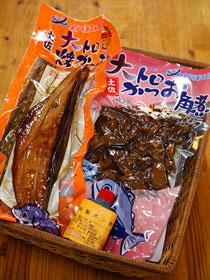 土佐の大トロ焼かつお・角煮セット